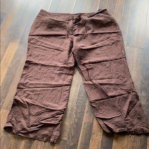 Lane Bryant wide leg linen/rayon pants size 22/24